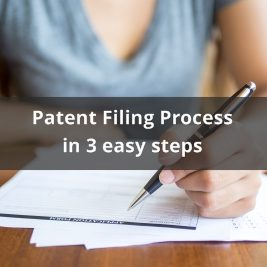 Patent filing in 3 steps