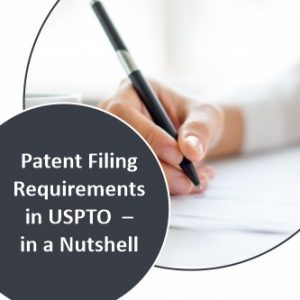 Patent Filing Requirements in USPTO - in a Nutshell