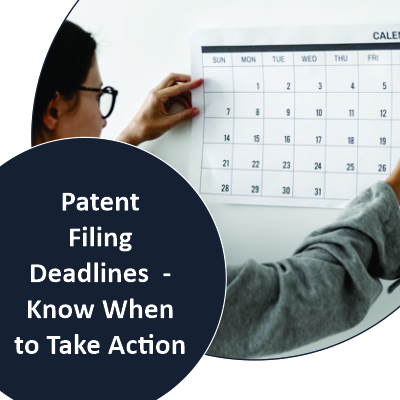Patent Filing Deadlines - Know When To Take Action