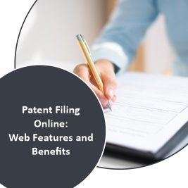 Patent Filing Online Web Features and Benefits